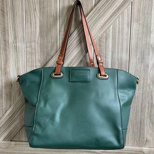 B.H. Bass Vegan Leather 3 in 1 Tote Shoulder Bag